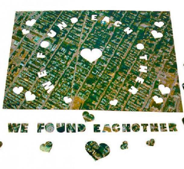 we found each other puzzle