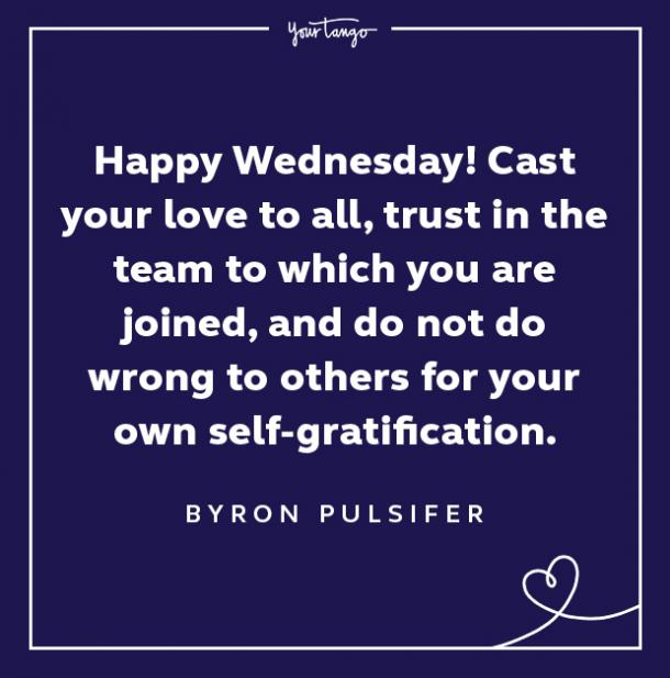 byron pulsifer wednesday quote