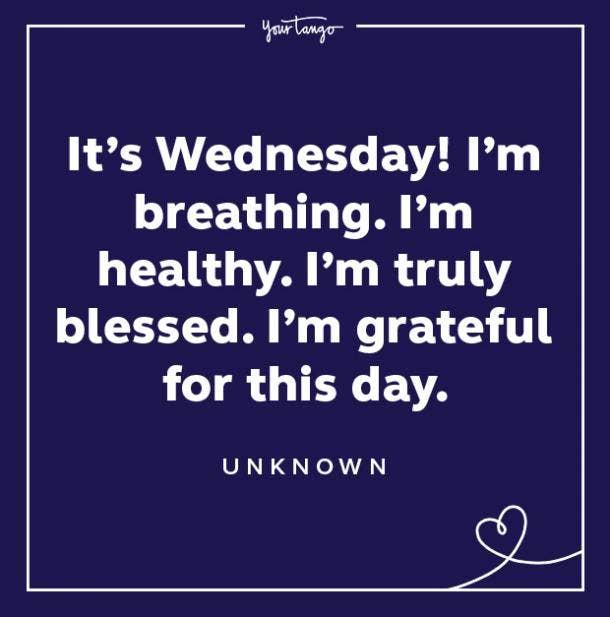 wednesday quote