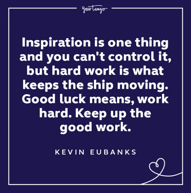kevin eubanks wednesday quote