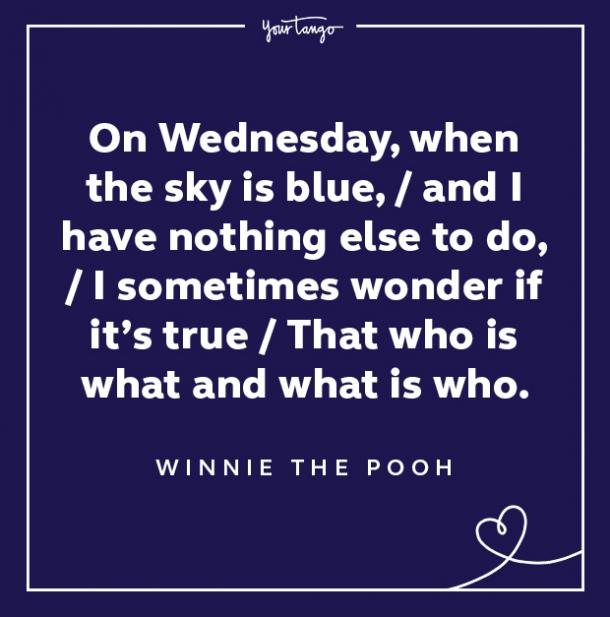 winnie the pooh wednesday quote