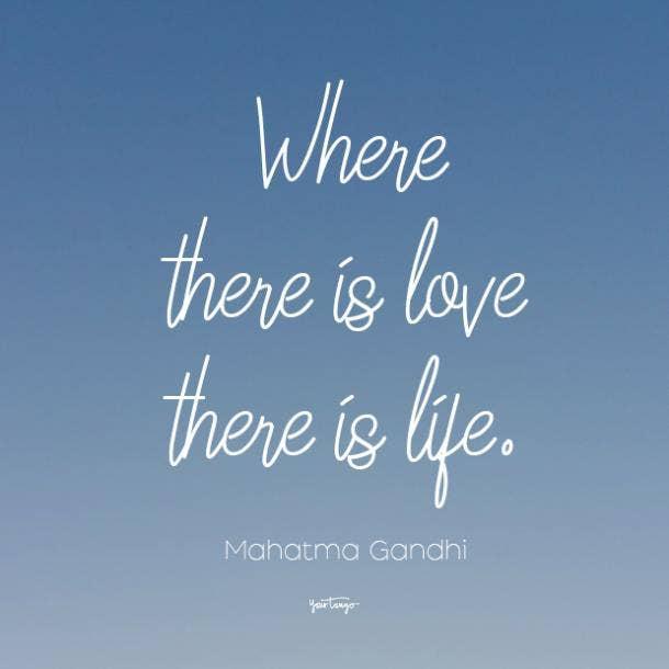 mahatma gandhi i love you quote