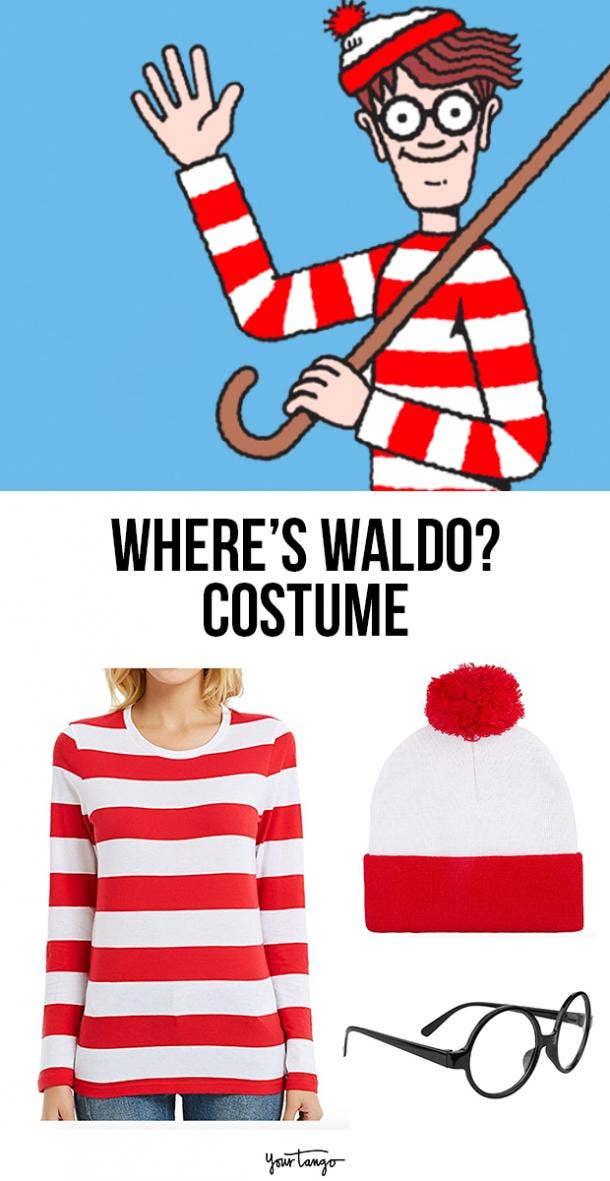 where's waldo last minute halloween costumes