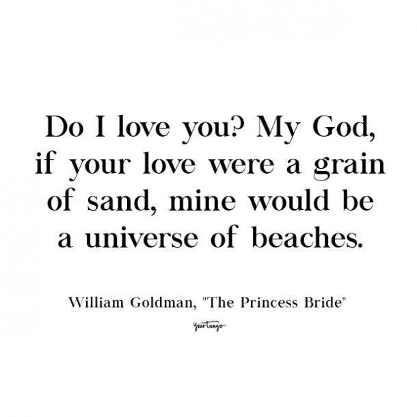 the princess bride cute love quote