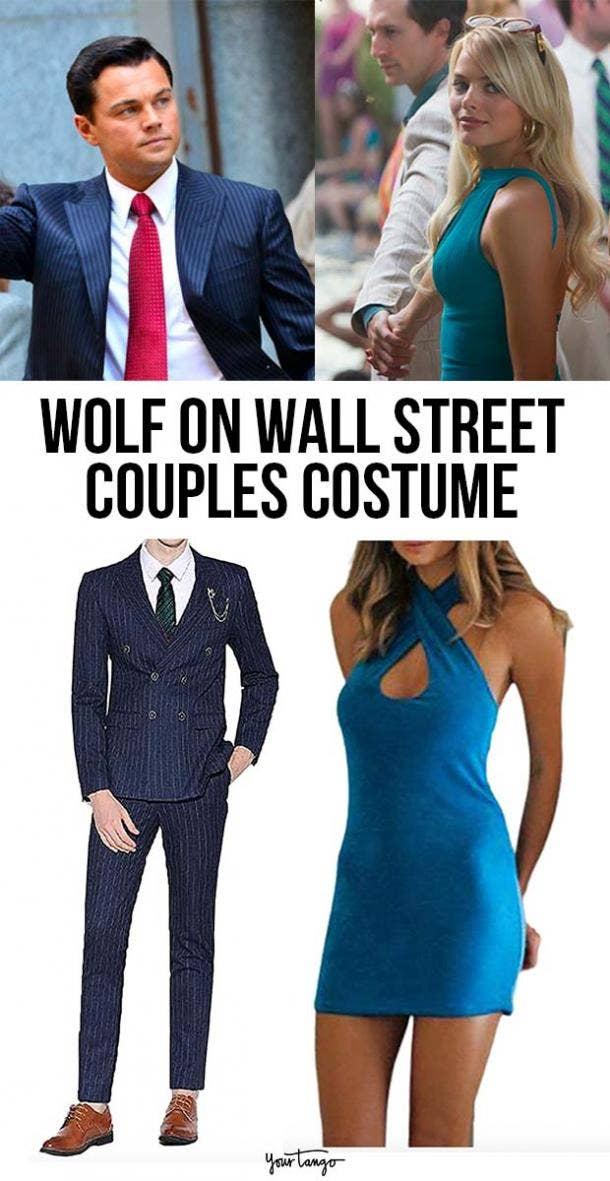 "Jordan and Naomi Belfort ""Wolf of Wall Street"" Couple Costume"