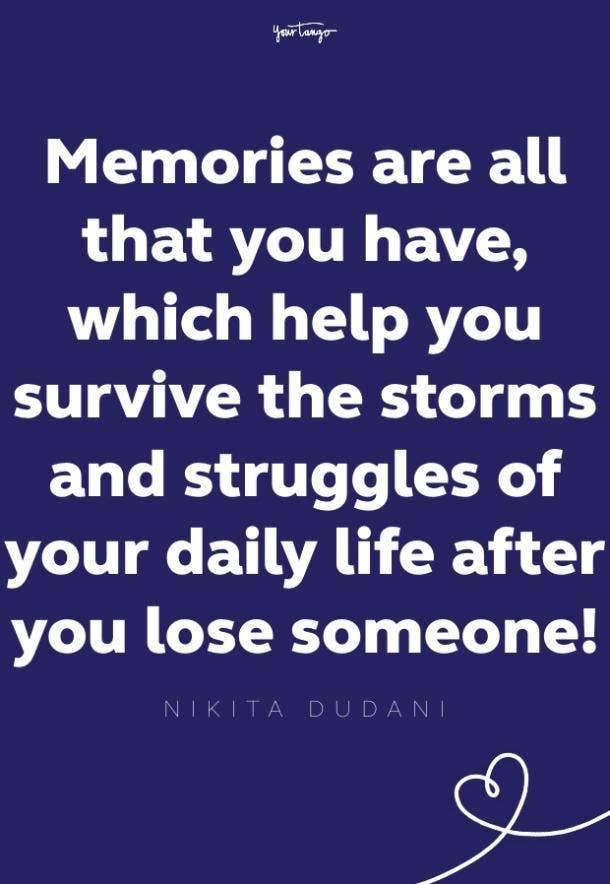 nikita dudani words of comfort