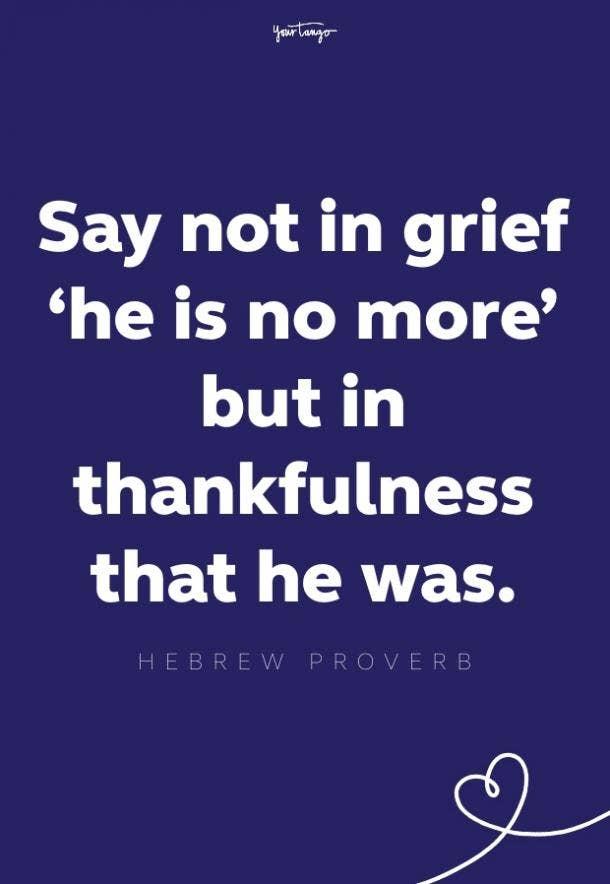 hebrew proverb words of comfort