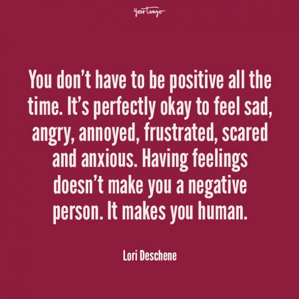 Lori Deschene mental health quote