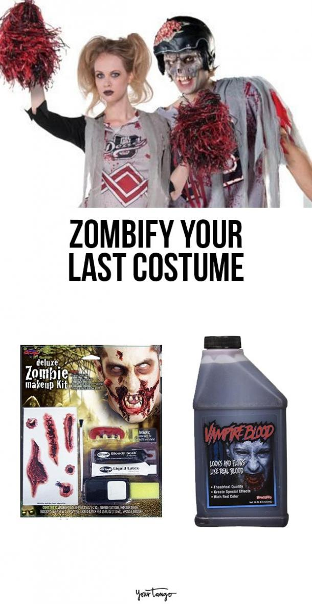 zombie last minute halloween costumes