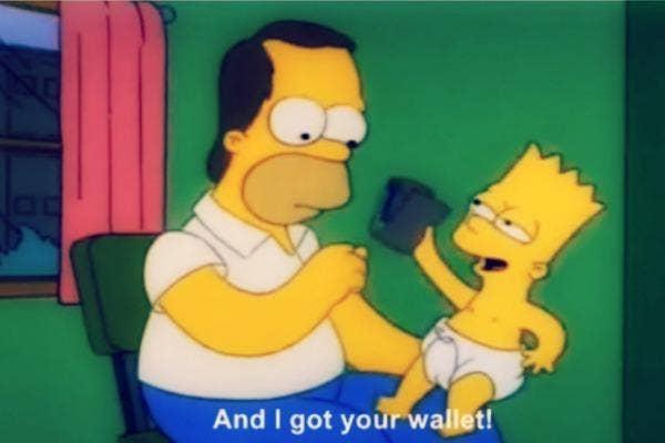 Homer and Bart