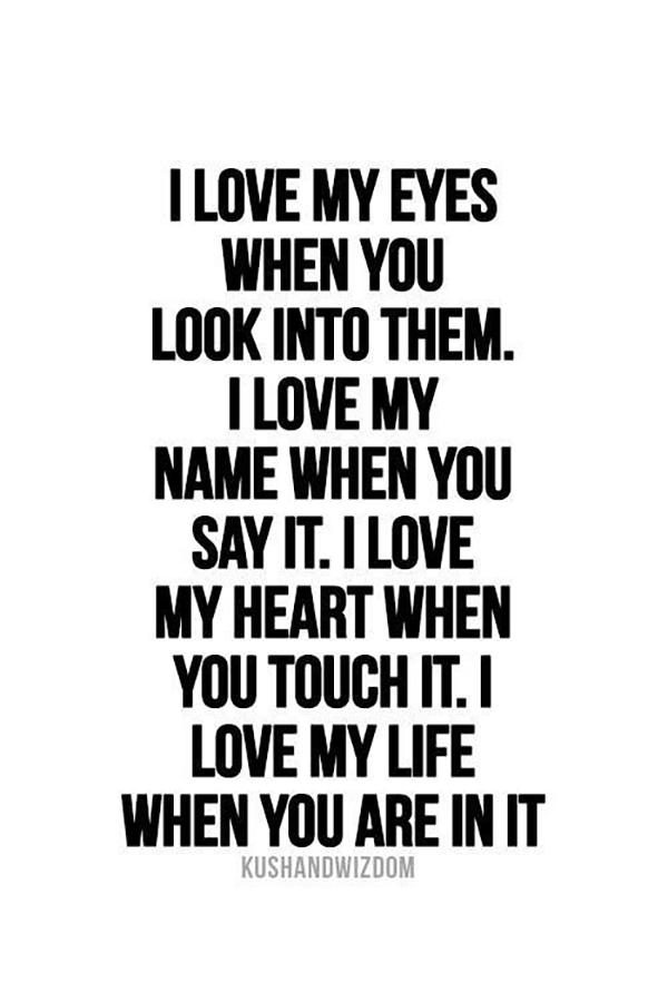 Love Quotes For Him Men
