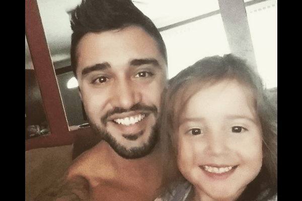 2. Hot dad with his smiling daughter