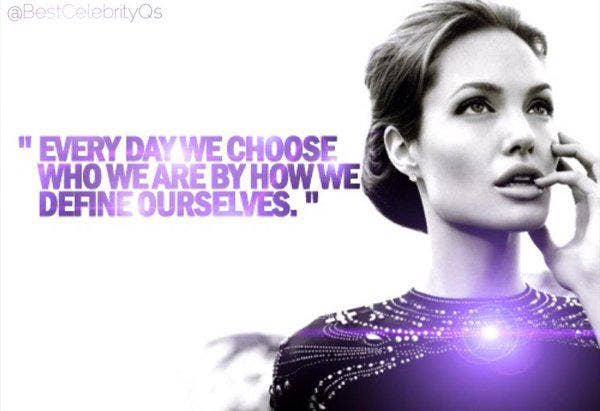 Angelina Jolie Inspirational Quotes