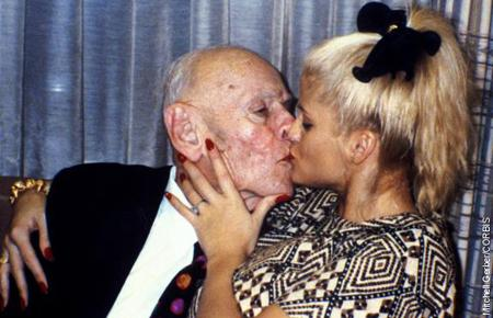 anna nicole smith with husband