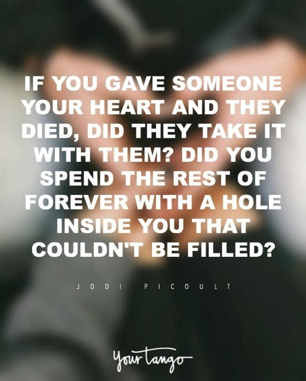 Jodi Picoult romantic love quote