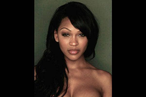 4. Meagan Good: Naturally full lips