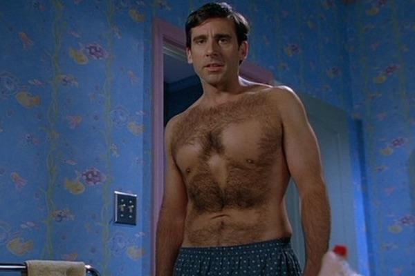 Steve Carell from The 40 Year Old Virgin