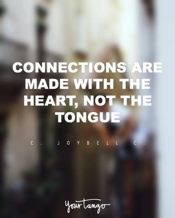 C JoyBell C romantic love quote
