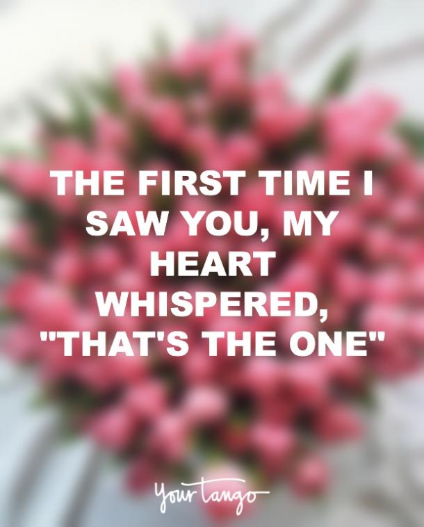 my heart whispered thats the one i love you quote