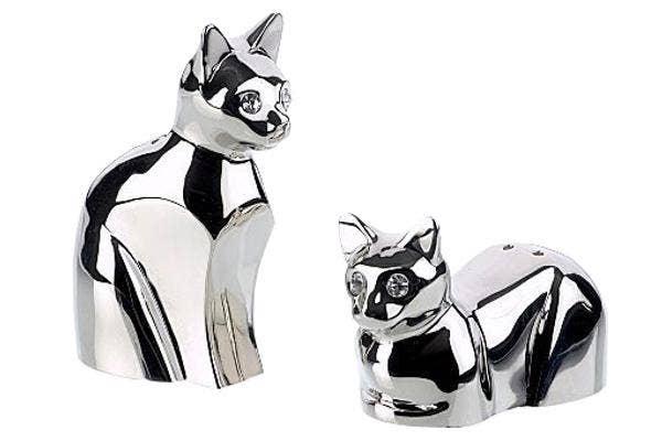 cat-salt-and-pepper-shakers, silver-cat-salt-shaker, silver-cats, cat-s&p