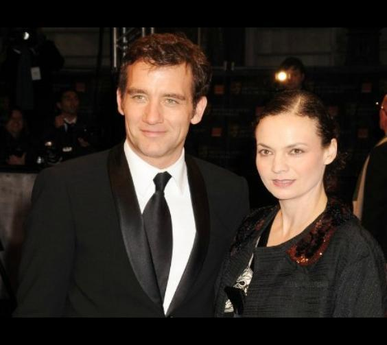 Clive Owen and wife Sarah-Jane Fenton