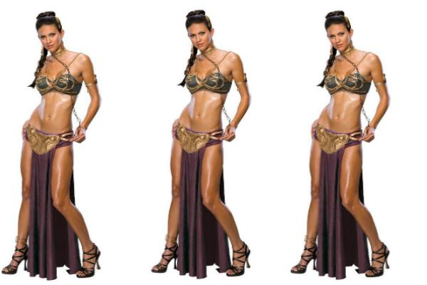 5. Princess Leia costume