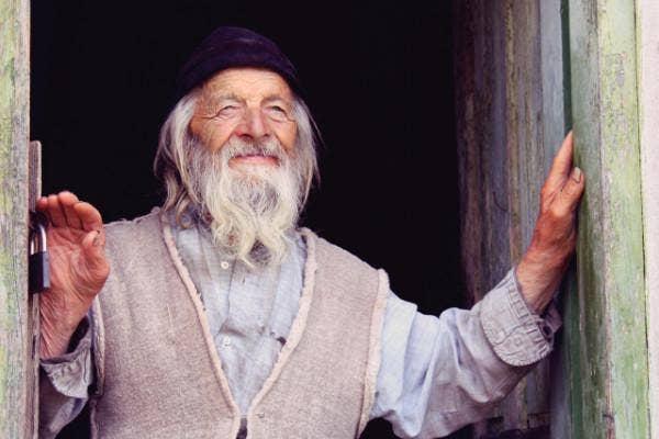 aging man