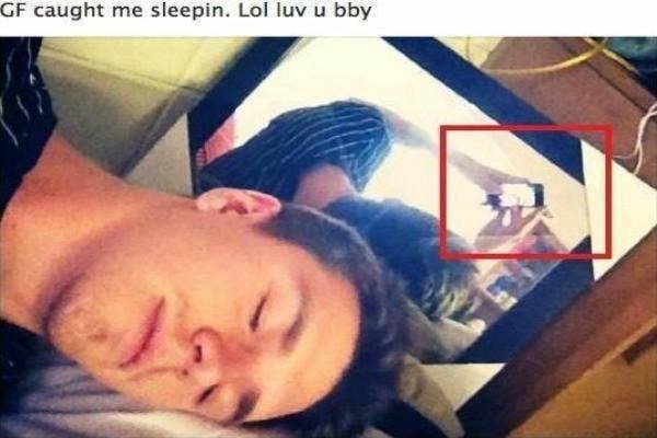Sleeping Selfies