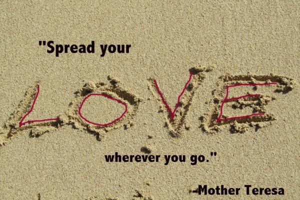 Mother Teresa Love Quote