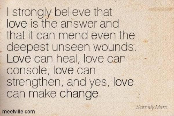 Somaly Mam love quote