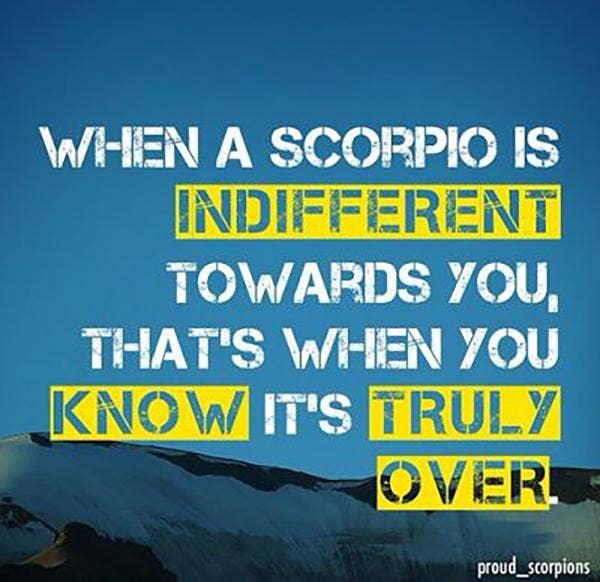 Scorpio Zodiac Sassy Quotes