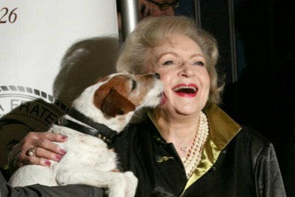 9. Betty White