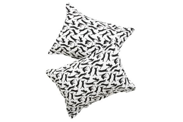 black-cat-pillows, black-and-white-cat-pillows, cat-pillows, cat-pillow-shams, black-and-white, black-and-white-pillows
