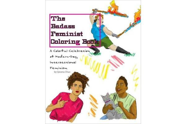 Feminist gifts: Badass feminist coloring book