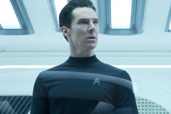Benedict Cumberbatch from Star Trek Into Darkness