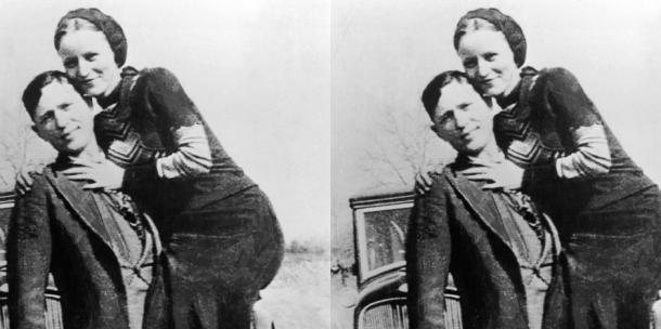 Bonnie and Clyde love story