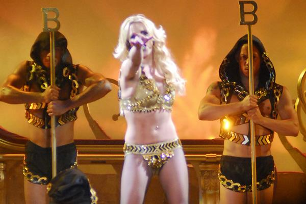Britney Spears Nearly Nude