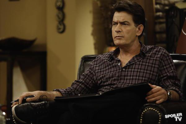Charlie Sheen from Anger Management