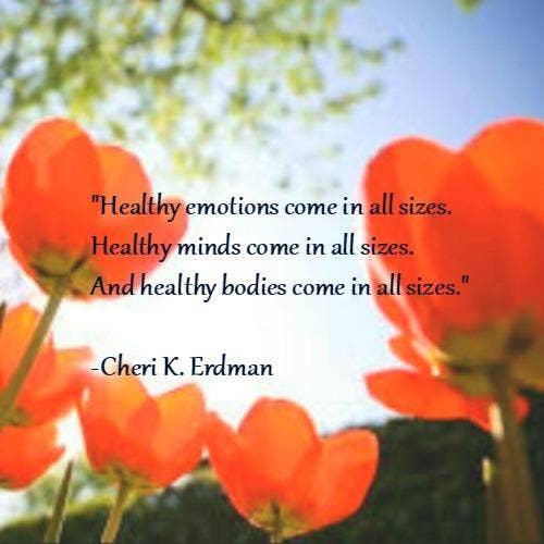 Cheri Erdman self-esteem body quotes