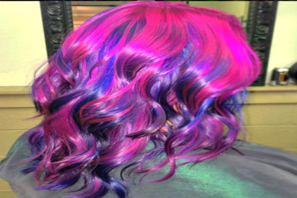 Bold and beautiful hair.
