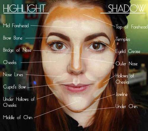 contour makeup