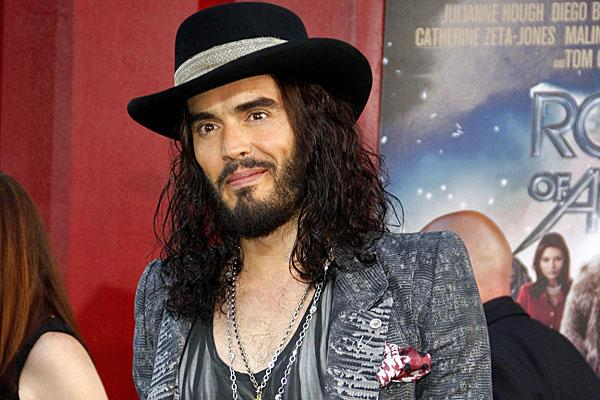 russell brand rock of ages premiere