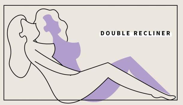 6. Double Recliner