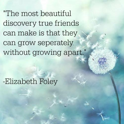 Elizabeth Foley friendship quotes