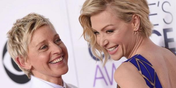 Ellen Degeneres and Portia de Rossi love story