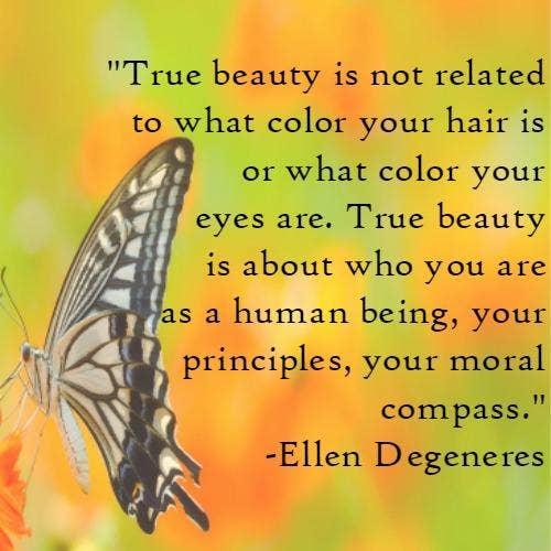 Ellen Degeneres self-esteem body quotes