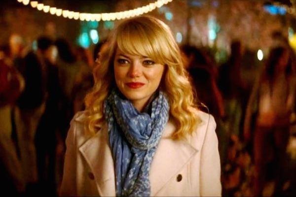 Emma Stone from The Amazing Spider-man 2