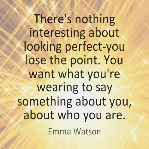 Emma Watson self-esteem body quotes