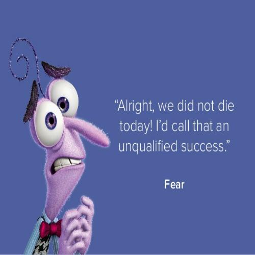 Inside Out inspirational Pixar quotes