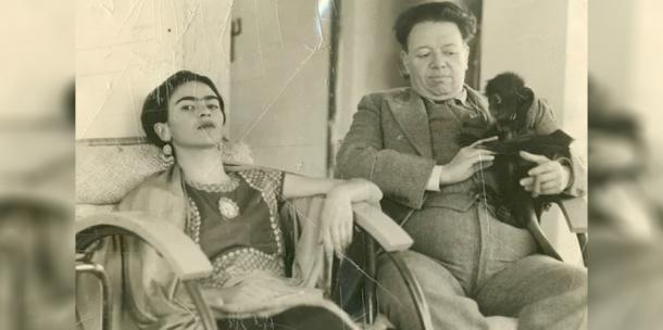 Frida Kahlo and Diego Rivera love story